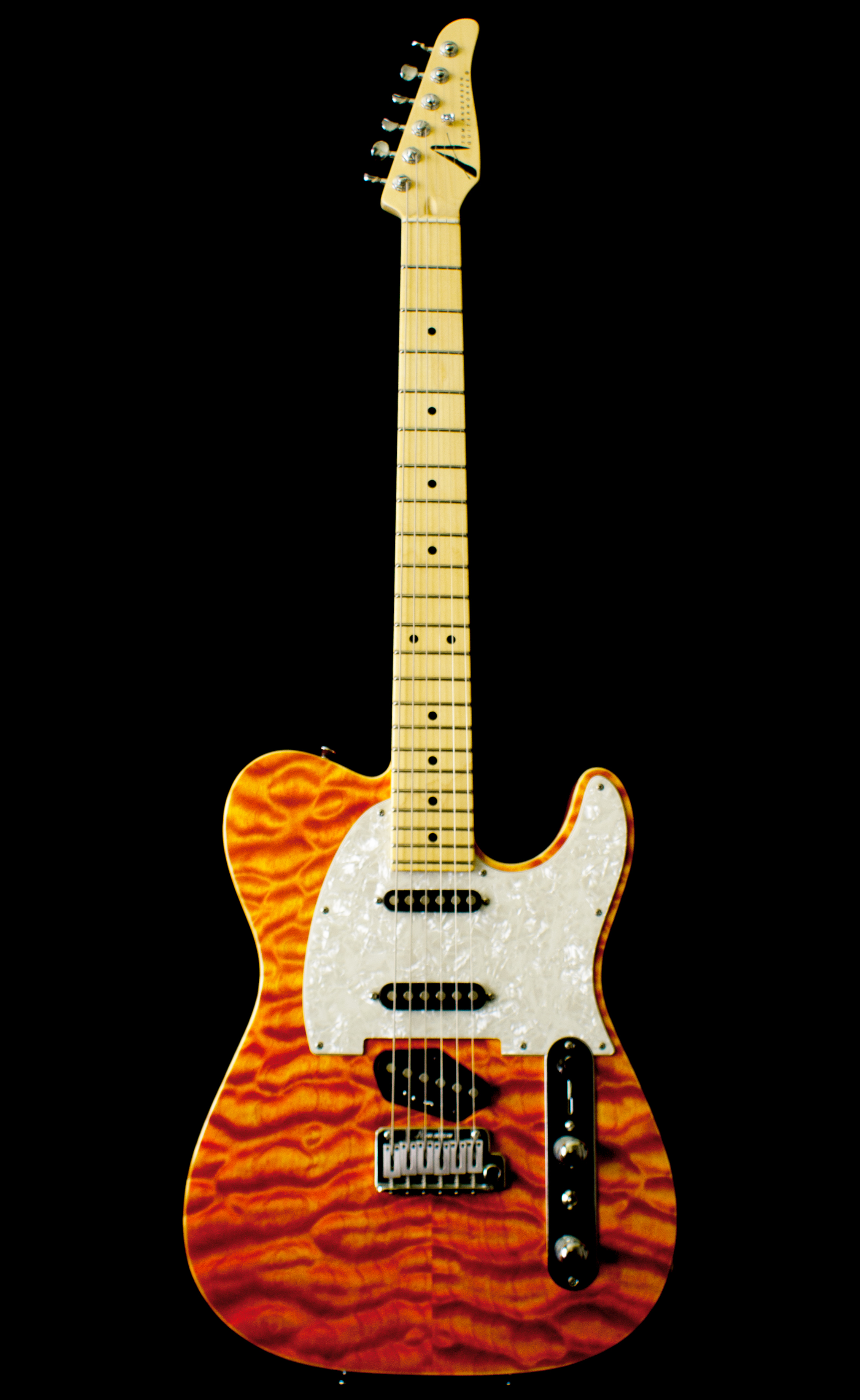 tom anderson drop t classic bent top hollowbody electric guitar sold cornerstone music. Black Bedroom Furniture Sets. Home Design Ideas