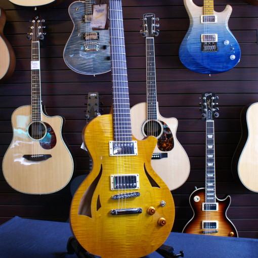 Sold Chris Mitchell Cmg Guitars Semi Hollow Body Ashlee