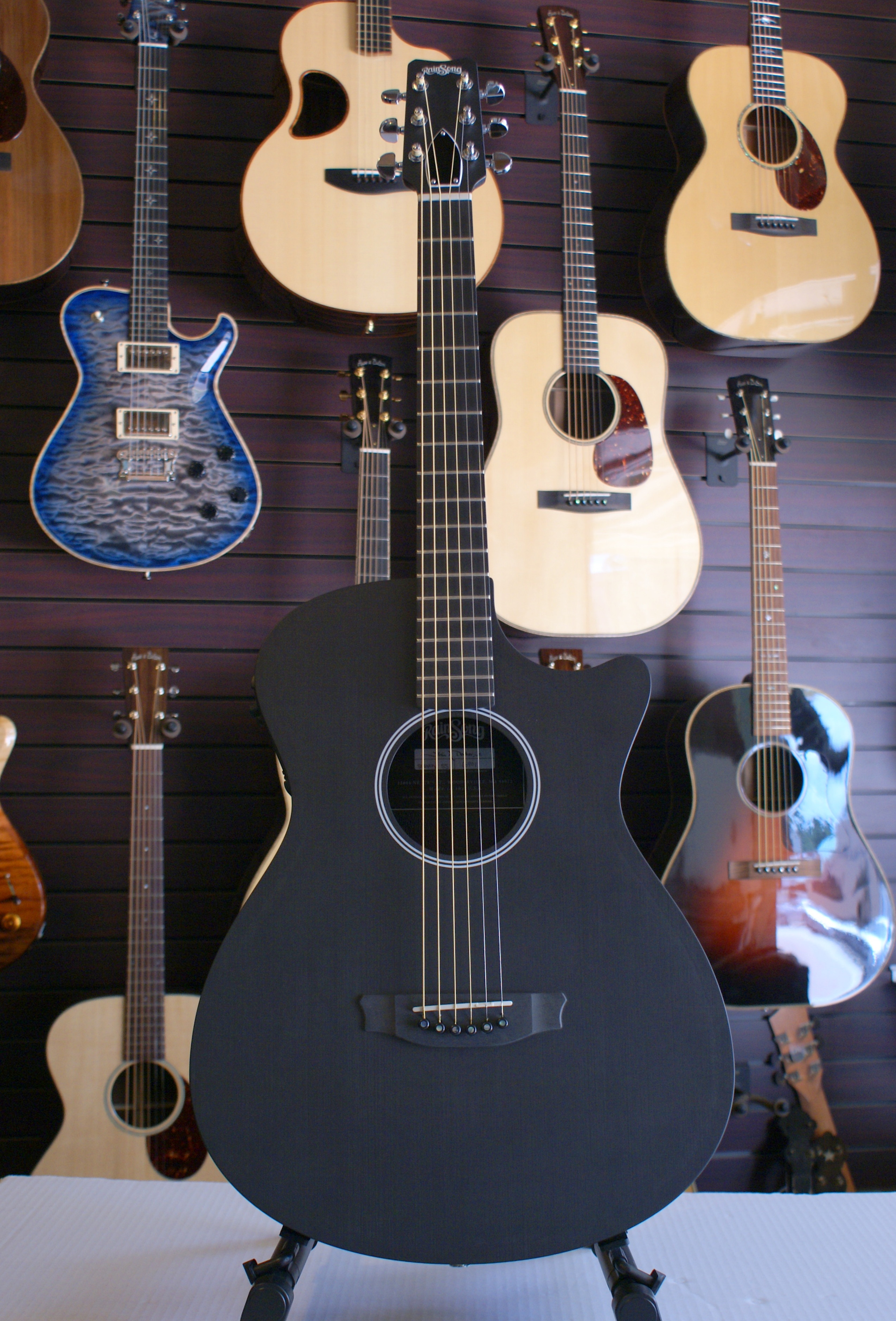 Rainsong Shorty Ss Acoustic Electric Guitar  U2013 Sold