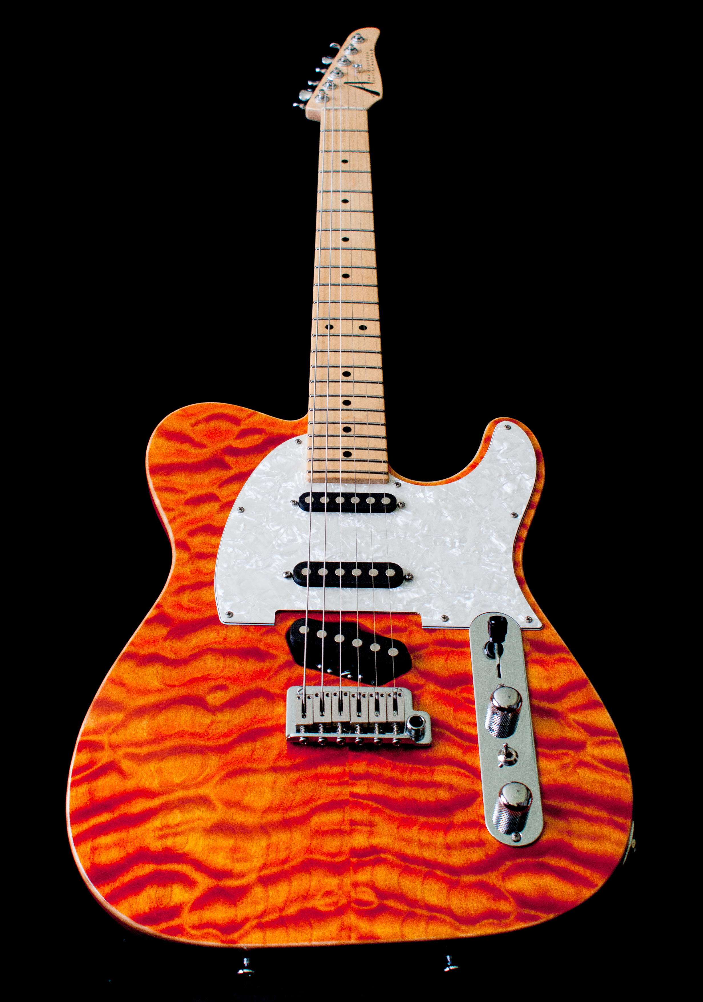 Tom Anderson Drop T Classic Bent Top Hollowbody Electric