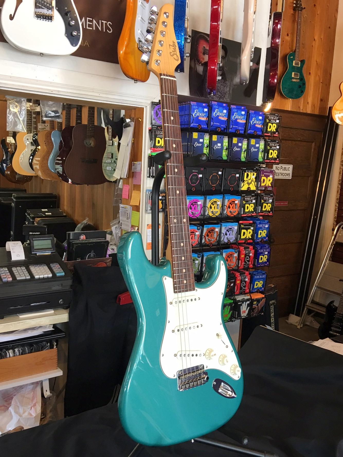 Sold Suhr Classic Pro Sss Sherwood Green Pre Owned